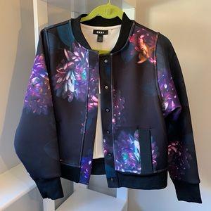 Donna Karan DKNY floral bomber jacket